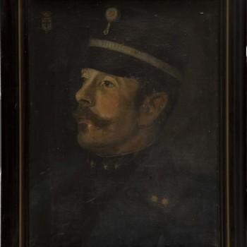 """Olieverfschilderij """"Luit. kolonel J. M. van Boecop"""""""