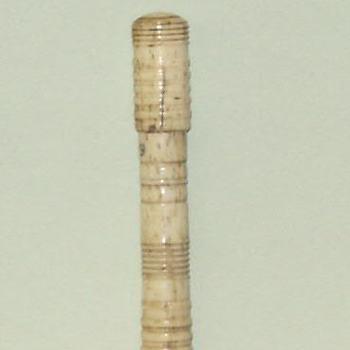 Naaldenkoker van been, afkomstig uit het interieur van Goilberdingen, 1880-1900