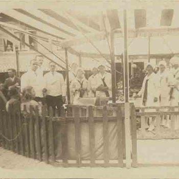 Foto, voorstellende 25-jarig regeringsjubileum koningin Wilhelmina te Culemborg, 1923