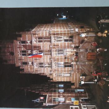 affiche voorstellende stadhuis te Culemborg, ca. 1970