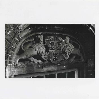 Foto, voorstellende wapen van Culemborg, stadhuis