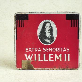 Sigarenblikje, Extra Senoritas van het merk Willem II.