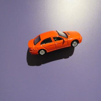 auto van metaal, speelgoed, ca. 1990