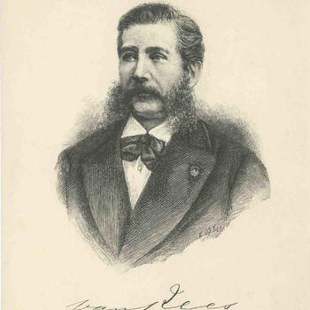 Foto, voorstellende een portret van gouverneur-generaal Van Rees
