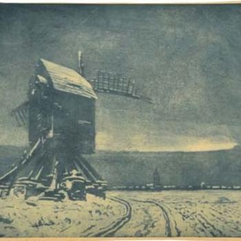 Oude molen bij Weert