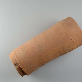 Ronde (riool)buis van keramiek uit de Romeinse tijd