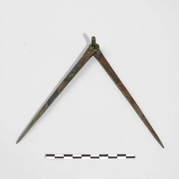 Bronzen passer uit de Romeinse tijd