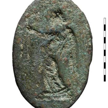 Gem van brons uit de Romeinse tijd