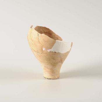 Fragment van een aardewerken kruik uit de Romeinse tijd