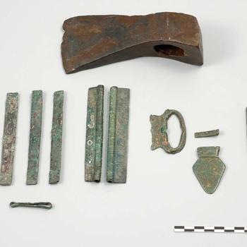 Grafinventaris uit de laat-Romeinse tijd uit Nijmegen