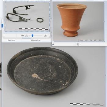 Grafinventaris uit de Romeinse tijd, van de Hunerberg
