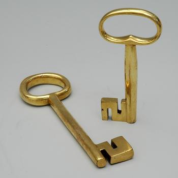 Vergulde sleutel