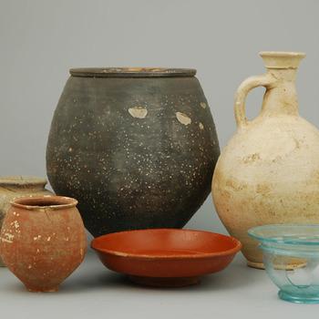 Grafinventaris uit de Romeinse tijd, gevonden in Nijmegen (Voorstadslaan)