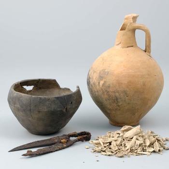 Grafinventaris uit de vroeg Romeinse tijd, uit Nijmegen-Hatert