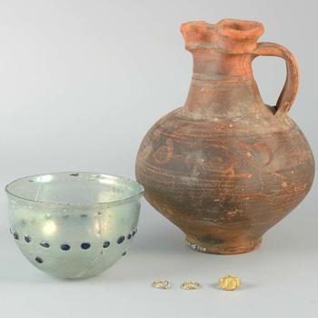 Grafinventaris uit de laat Romeinse tijd, van de Mariënburg