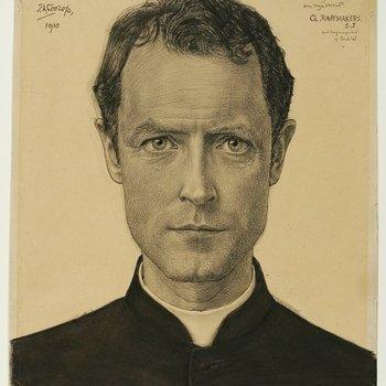 Portret van Charles Raaijmakers (1871-1954)