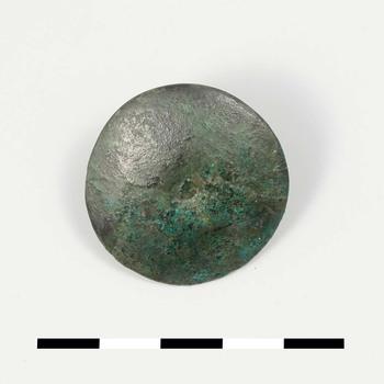 Nagel van brons uit de Romeinse tijd
