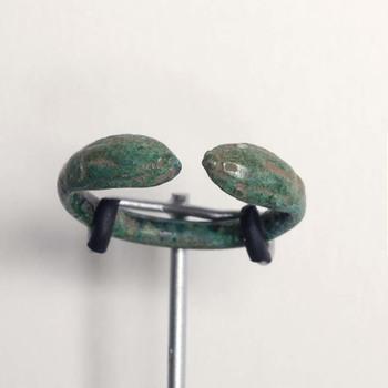 Ring van brons uit de Romeinse tijd