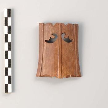 Benen puntbeschermer van zwaardschede uit de Romeinse tijd