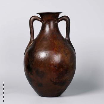 Amfoor van brons uit de vroege - begin midden Romeinse tijd