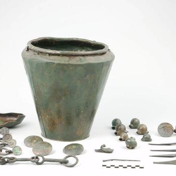 Grafinventaris uit de midden ijzertijd