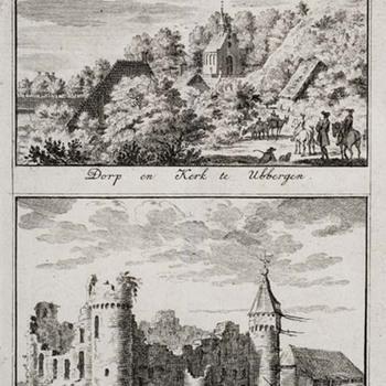 Twee afbeeldingen van Ubbergen