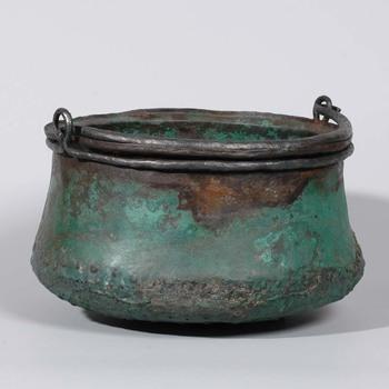 Ketel van brons uit de Romeinse tijd