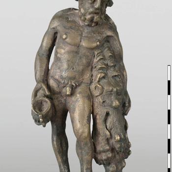 Bronzen beeldje van Hercules uit de Romeinse tijd