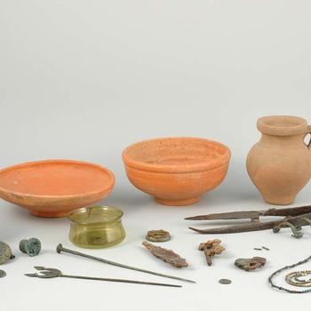 Grafinventaris uit de laat Romeinse tijd uit Nijmegen