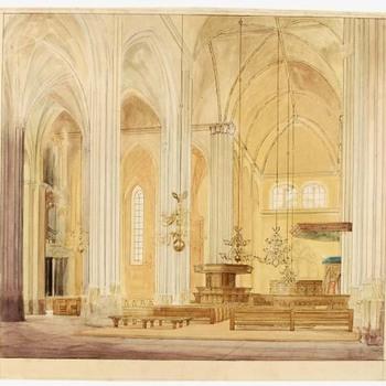 Interieur van de Stevenskerk