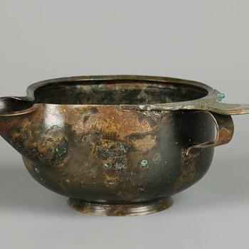 Tuitkom van brons uit de vroeg Romeinse tijd