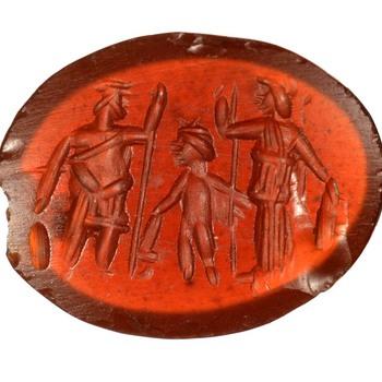 Gem van natuursteen uit de Romeinse tijd