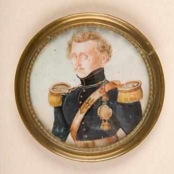 portret van een onbekende luitenant