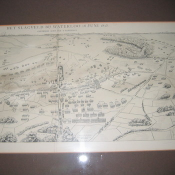 slagveld bij Waterloo