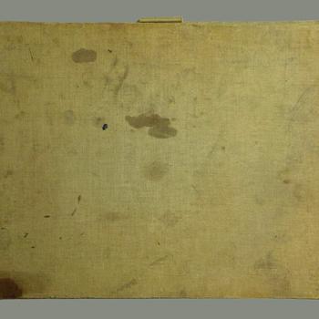Archeologisch schetsboek van Andries Verleur, 1918