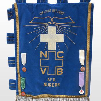 Vlag van de Nederlandse Christen Vrouwen Bond, afdeling Nijkerk