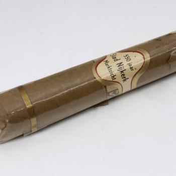Sigaar, speciaal gemaakt voor het eeuwfeest van Nijkerk van 1963