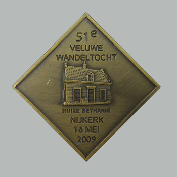 Medaille van de 51e Veluwe Wandeltocht, 2009