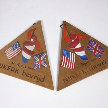 Aandenkens aan de bevrijding van Nijkerk op 20 april 1945