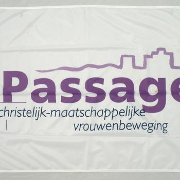 Vlag van Passage, christelijk-maatschappelijke vrouwenbeweging, afdeling Appel (gemeente Nijkerk)