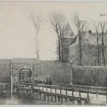 Exterieur fort, ansichtkaart, 20e eeuw