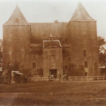Exterieur slot, foto, 20ste eeuw