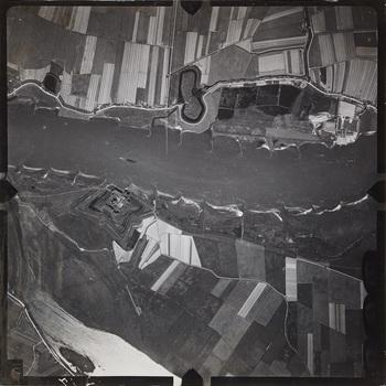 Luchtfoto, papier, 20e eeuw
