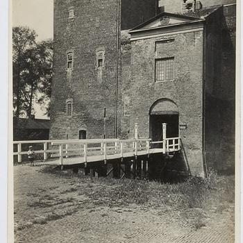 Exterieur slot, foto, ca. 1920