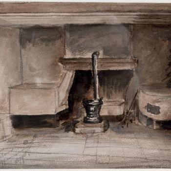 Interieur keuken Blok C, 1879