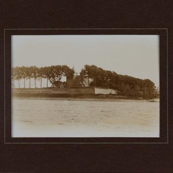 Exterieur fort, foto, 20ste eeuw