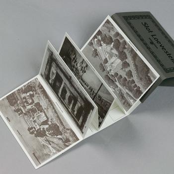 Ansichtkaarten in map, papier, 2003