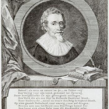 Hugo de Groot, kopergravure