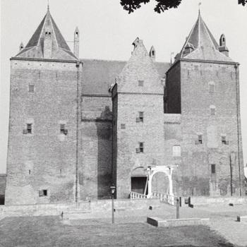 Exterieur slot, foto, 20e eeuw