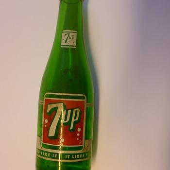 Fles, glas, 20ste eeuw